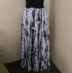 Peppermint bay maxi skirt